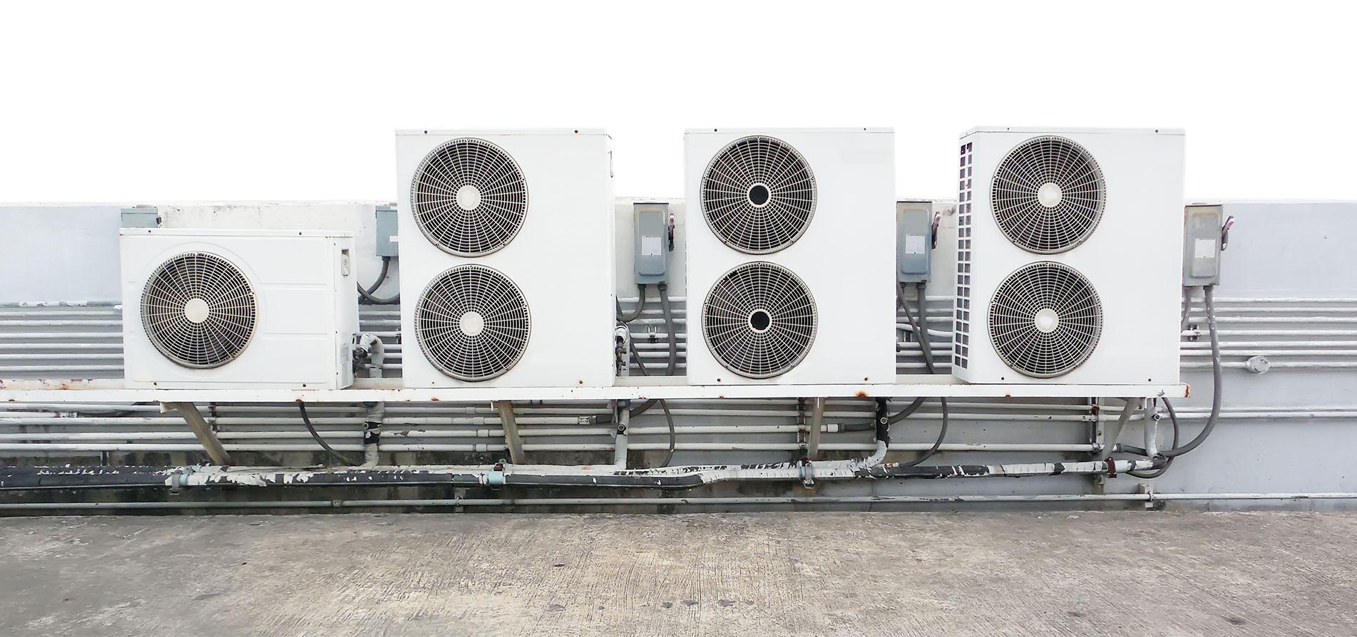 Cache Unité Extérieure Climatisation système de climatisation vrv, ou multi-clim, à paris par