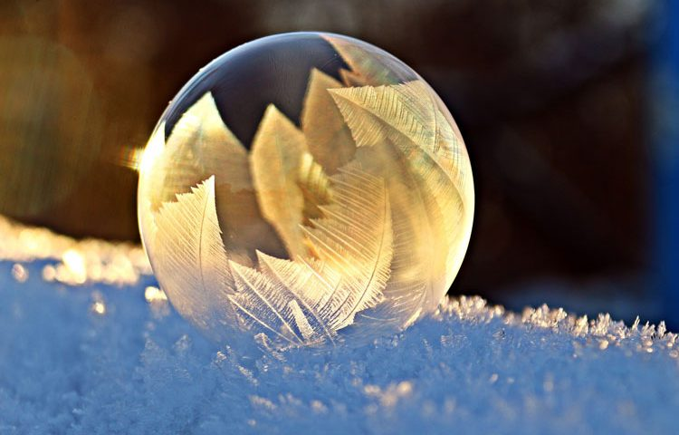 bulle glace froid